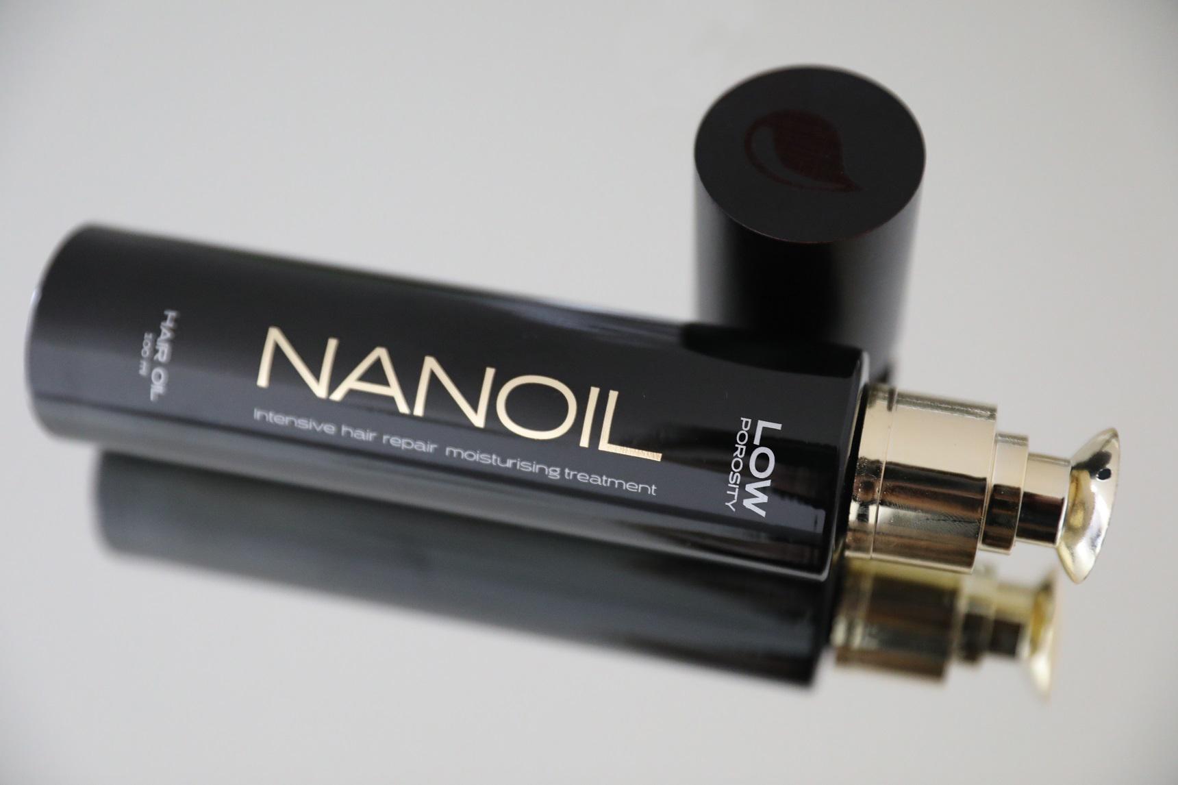 olejek do włosów Nanoil - alternaatywa dla balsamu